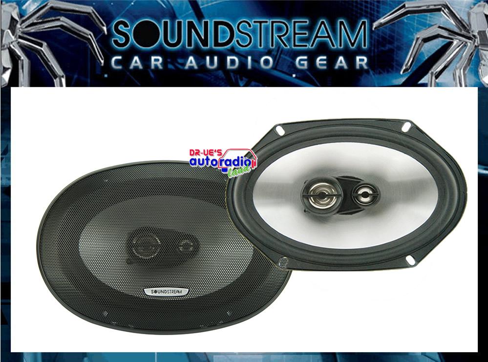 soundstream 3 wege lautsprecher passend f r ford transit t re vorne ebay. Black Bedroom Furniture Sets. Home Design Ideas